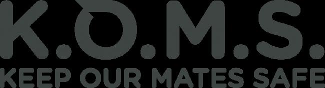 KOMS Logo Grey
